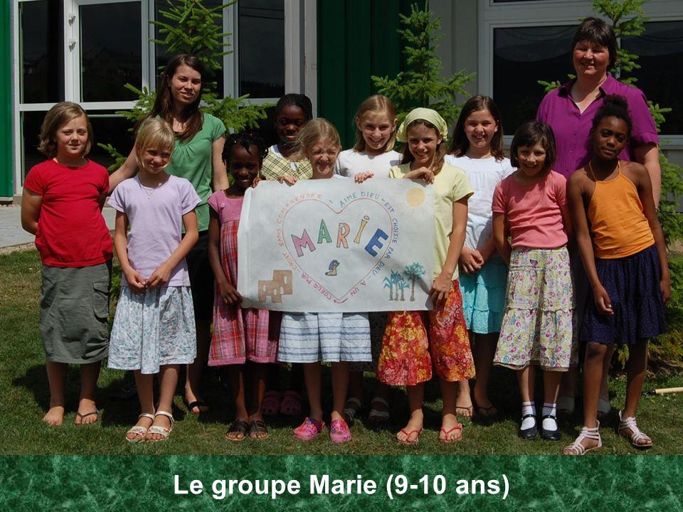Le groupe Marie (9-10 ans)