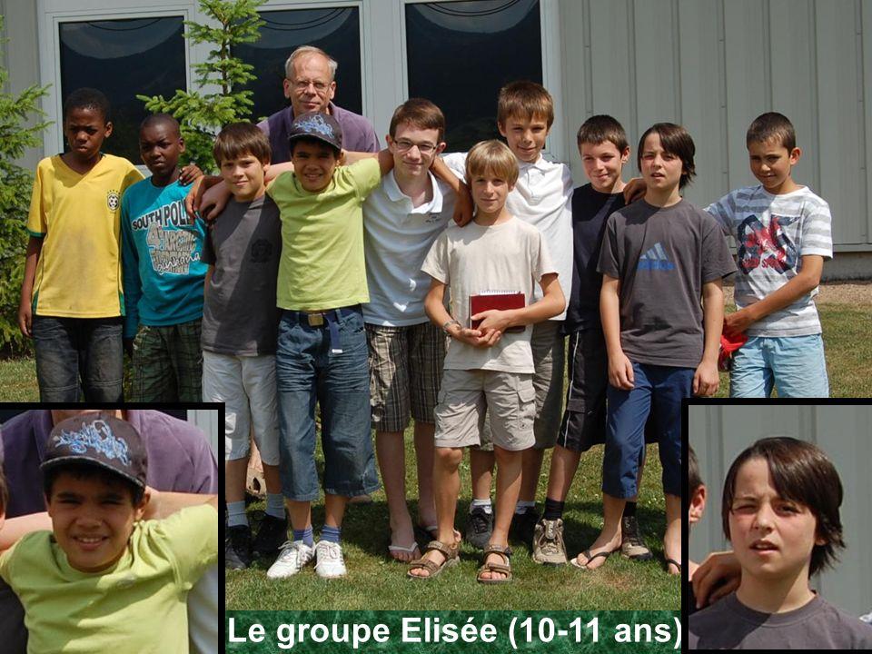 Le groupe Elisée (10-11 ans)