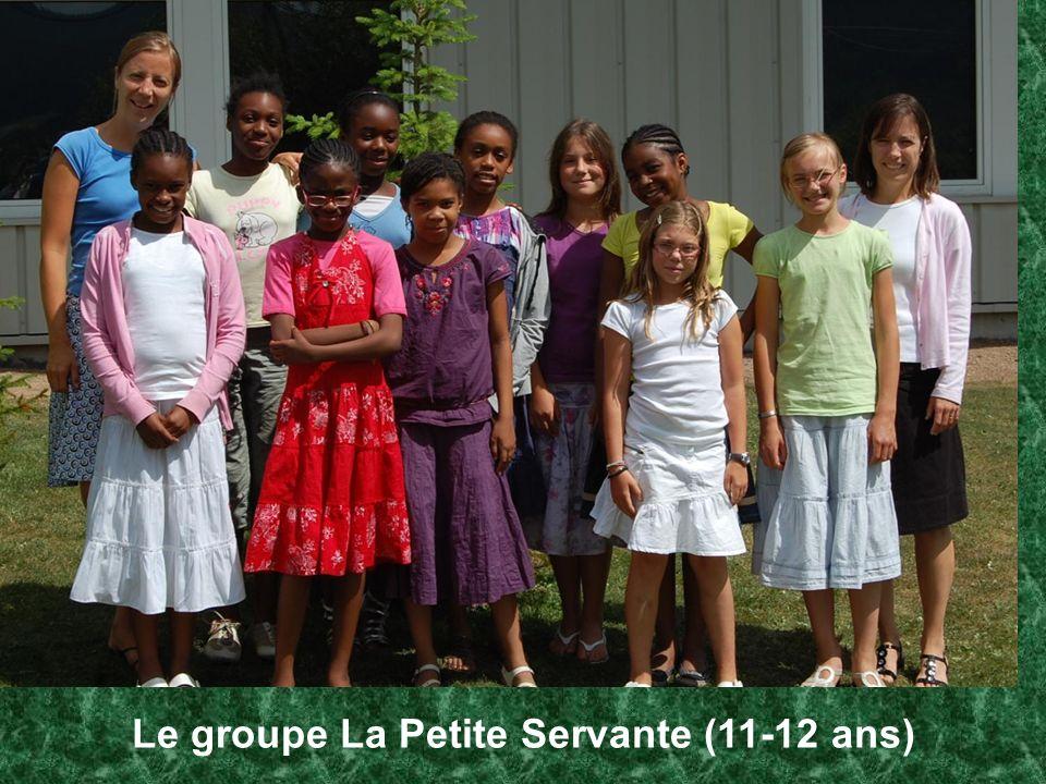 Le groupe La Petite Servante (11-12 ans)