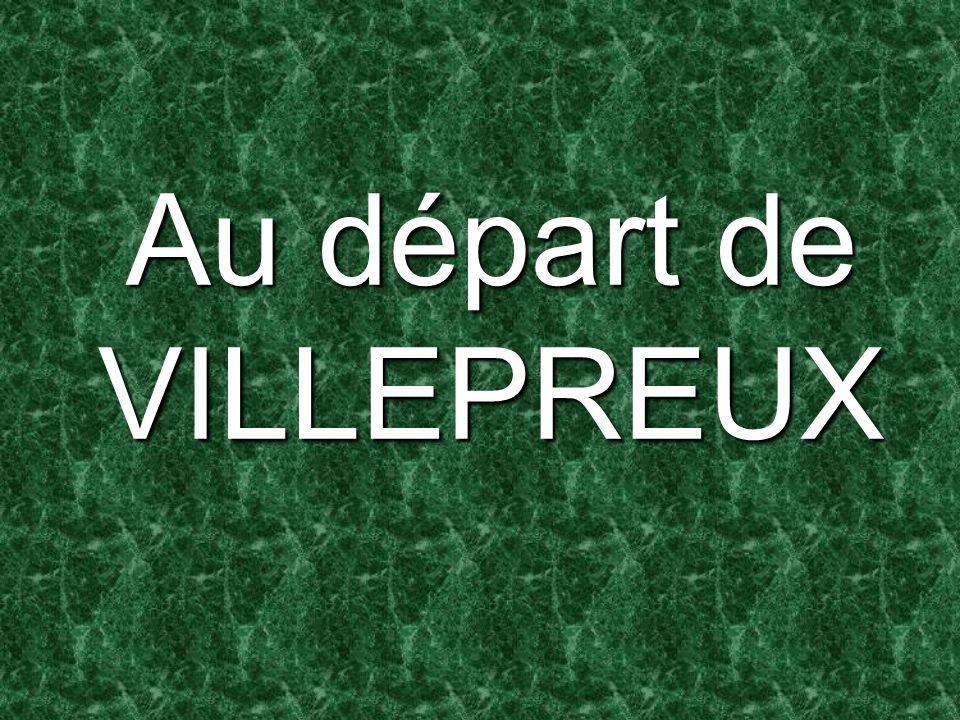 Au départ de VILLEPREUX