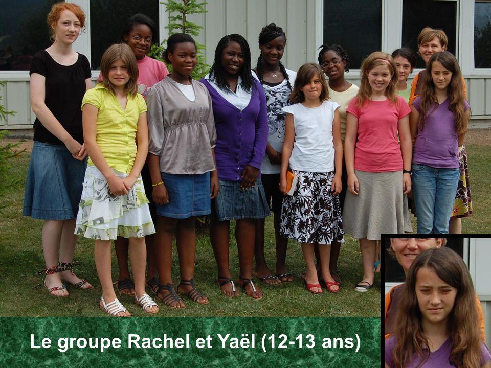 Le groupe Rachel et Yaël (12-13 ans)
