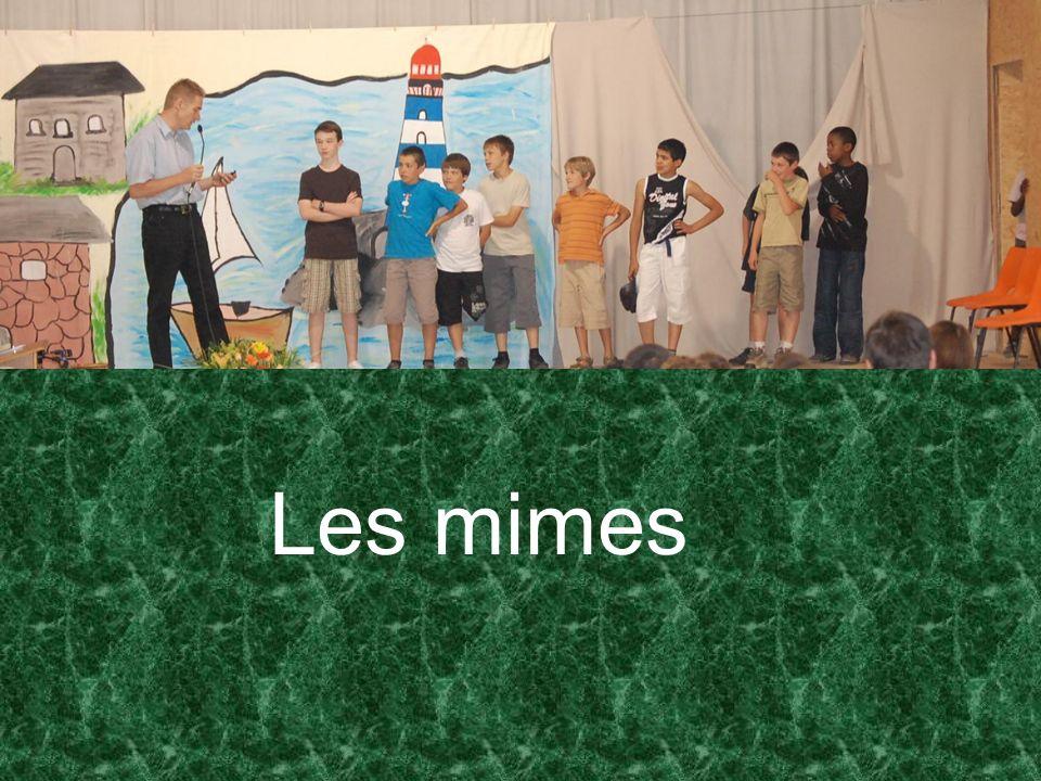 Les mimes