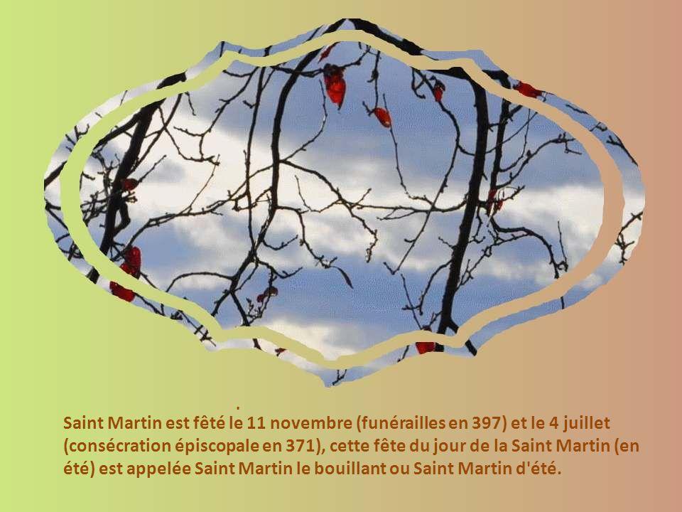 Au soir de sa vie, sa présence est requise pour réconcilier des clercs à Candes sur Loire, à l ouest de Tours ; l urgence de l unité de l Église fait que malgré sa vieillesse, il décide de s y rendre.