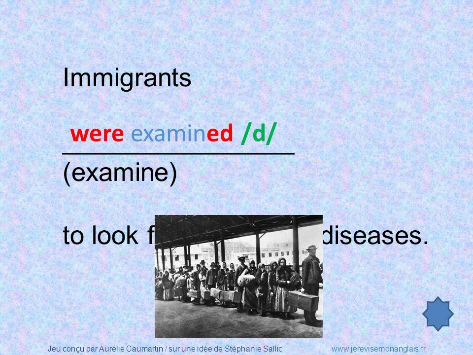 Jeu conçu par Aurélie Caumartin / sur une idée de Stéphanie Sallicwww.jerevisemonanglais.fr Immigrants ________________ (treat) like cattle (bétail).