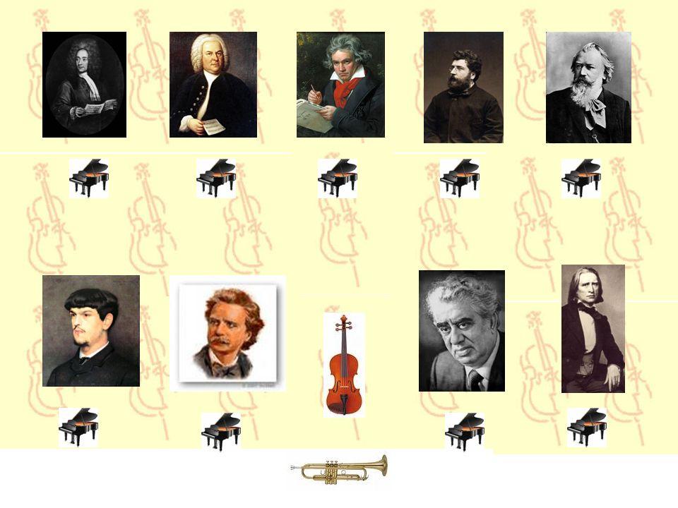 Pour la musique : cliquez sur les pianos Pour les renseignements : cliquez sur les portraits Pour avancer : cliquez sur la trompette Pour le retour :