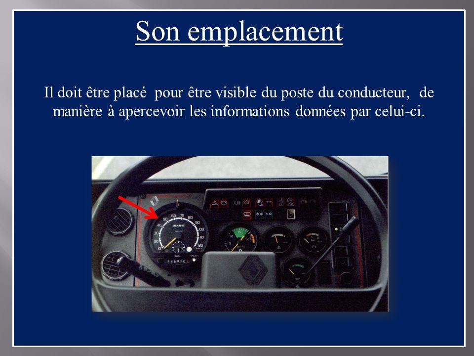 Vérifications avant le départ Prise en compte du véhicule : 1.sassurer que lappareil de contrôle est conforme, grâce à la plaque dhomologation.