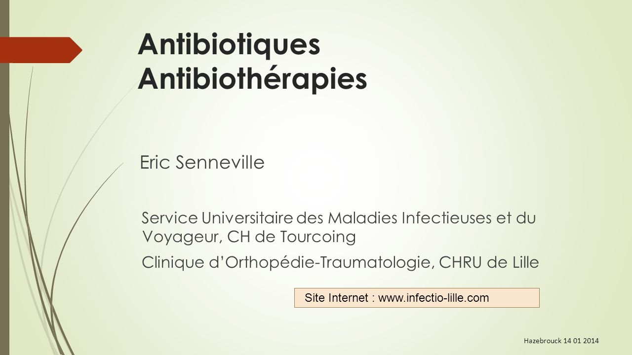 Infections urinaires
