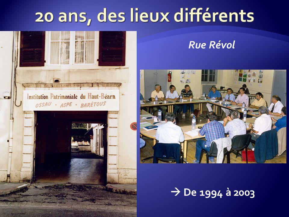 De 1994 à 2003 Rue Révol
