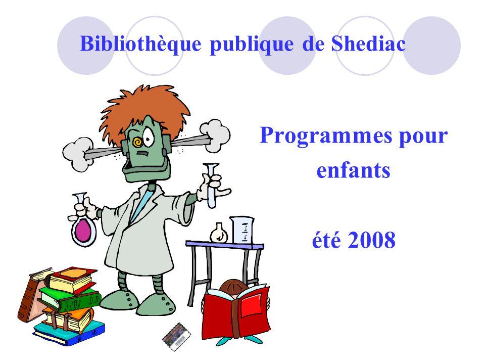 Club de lecture dété 2008 Viens voir.