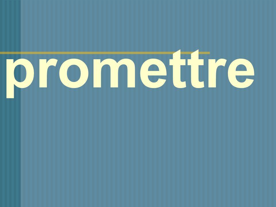 promettre