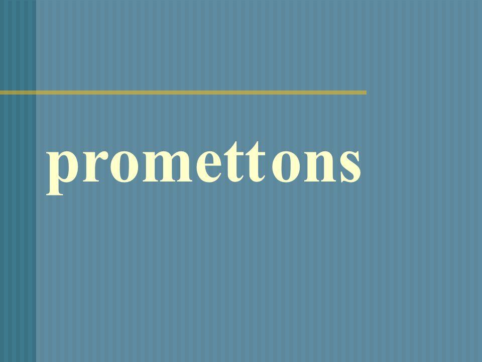 promettons