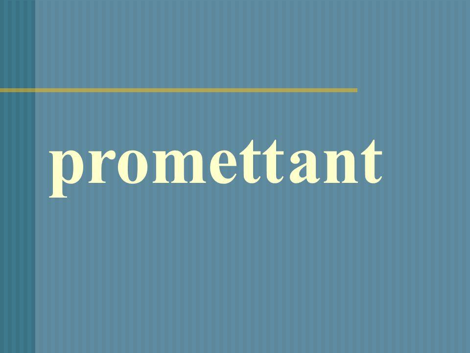 promettant