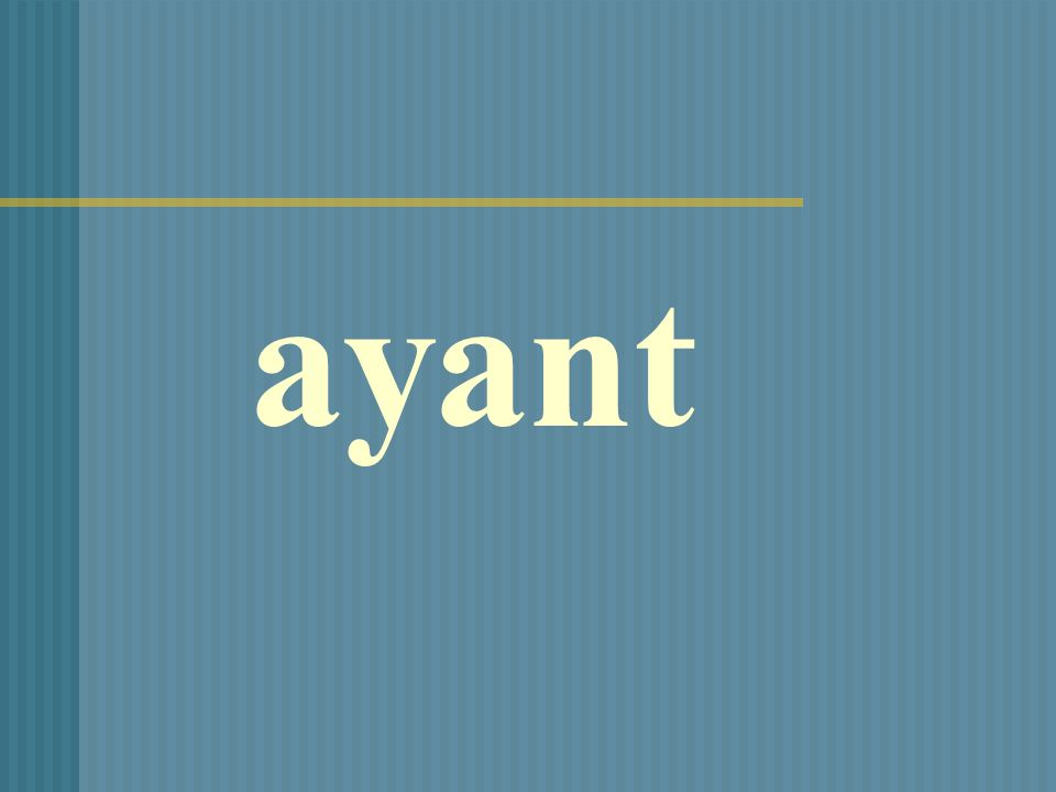 ayant