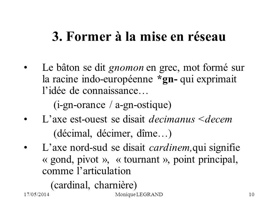 17/05/2014Monique LEGRAND10 3.
