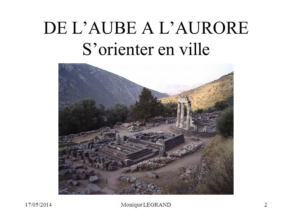17/05/2014Monique LEGRAND3 I.