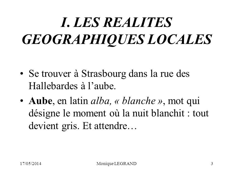 17/05/2014Monique LEGRAND14 Laxe sud-nord