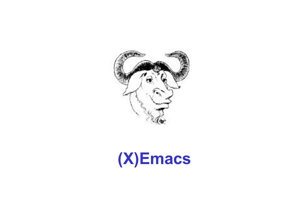 (X)Emacs