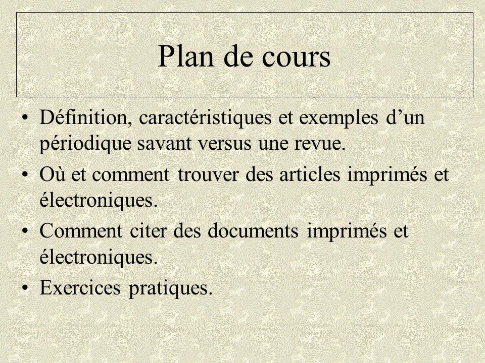 Comment citer un document Web Style APA Auteur.(année).