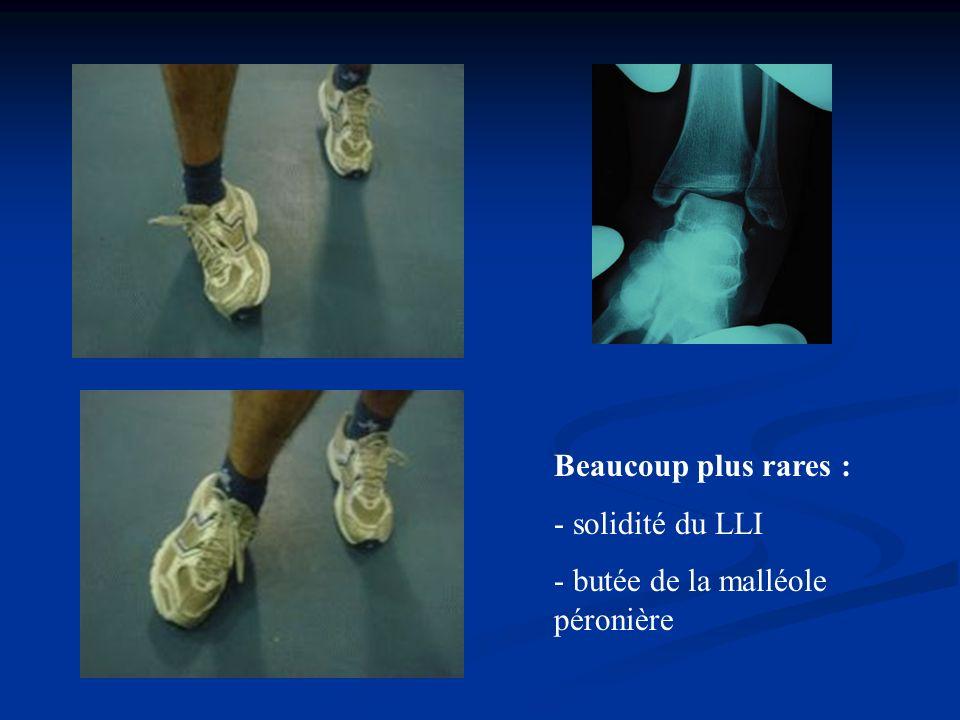 Mobilité antéro-postérieure de lastragale En flexion : lastragale se postériorise En extension : il santériorise En traction, poids du corps en AR