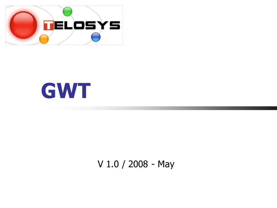22 Bibliothèques de widgets GWT-Ext (LGPL) Utilise Ext-js 2.0.2 pour son design Ext-GWT, anciennement MyGwt (Licence commerciale et GPL) Il existe de nombreuses autres librairies qui à lheure actuelle nont pas encore pris assez dimportance pour figurer dans ces slides.