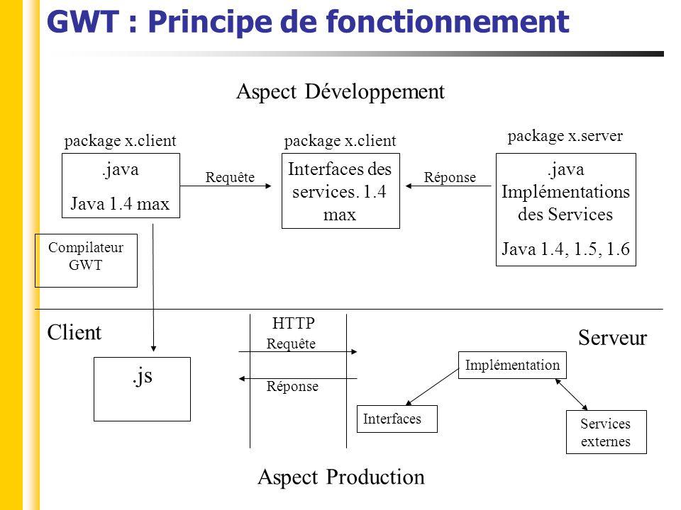 29 A venir Google développe son propre designer Version 1.5 de GWT (Google): Prise en charge de java 5 GWT Designer (Instantiations): Support des widgets de GWT-Ext en cours de développement, et peut-être Ext-GWT