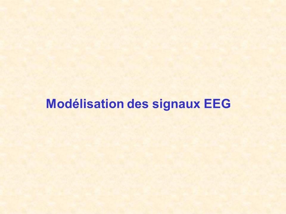 Modélisation des signaux EEG