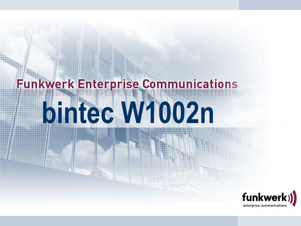Equipements et accessoires bintec W1002n 1 module Radio, 3 antennes externes N° article : 5510000165 Prix Public H.T.