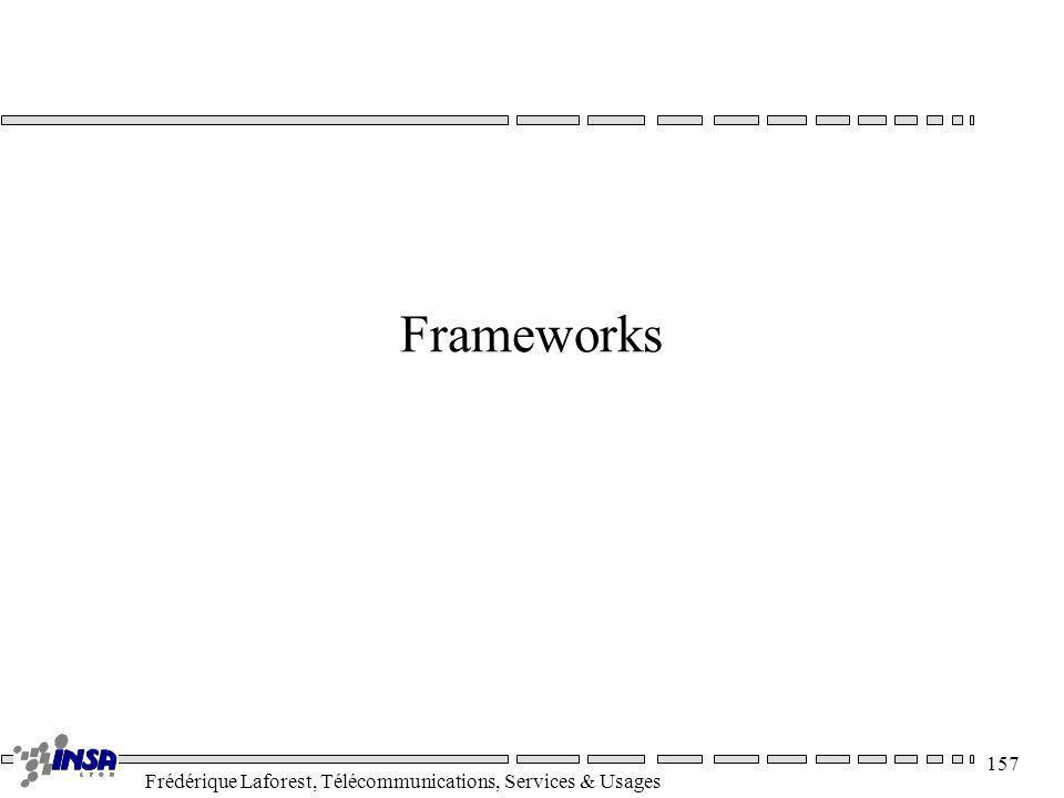 Frédérique Laforest, Télécommunications, Services & Usages 157 Frameworks