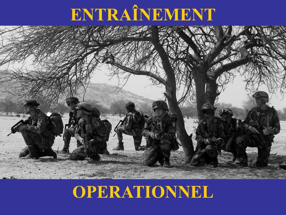 ENTRAÎNEMENT OPERATIONNEL