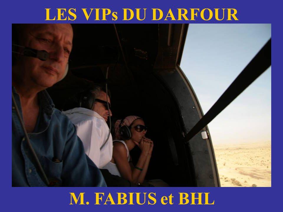 LES VIPs DU DARFOUR CNE BEDEZ et ANGELINA JOLIE