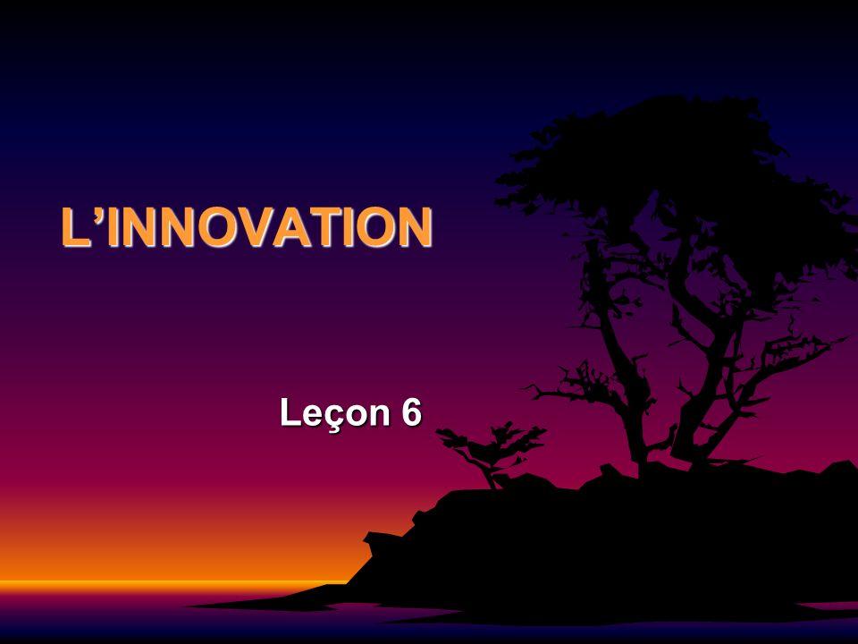 LINNOVATION Leçon 6