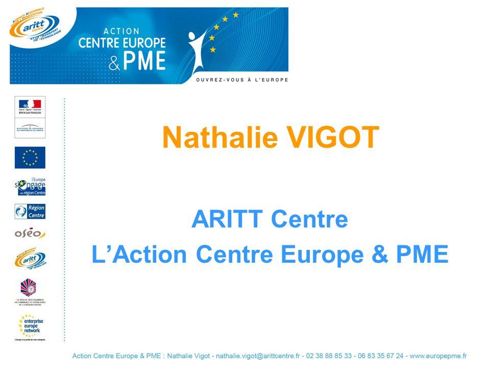 Nathalie VIGOT ARITT Centre LAction Centre Europe & PME
