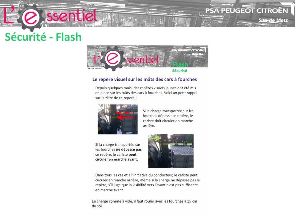 Sécurité - Flash