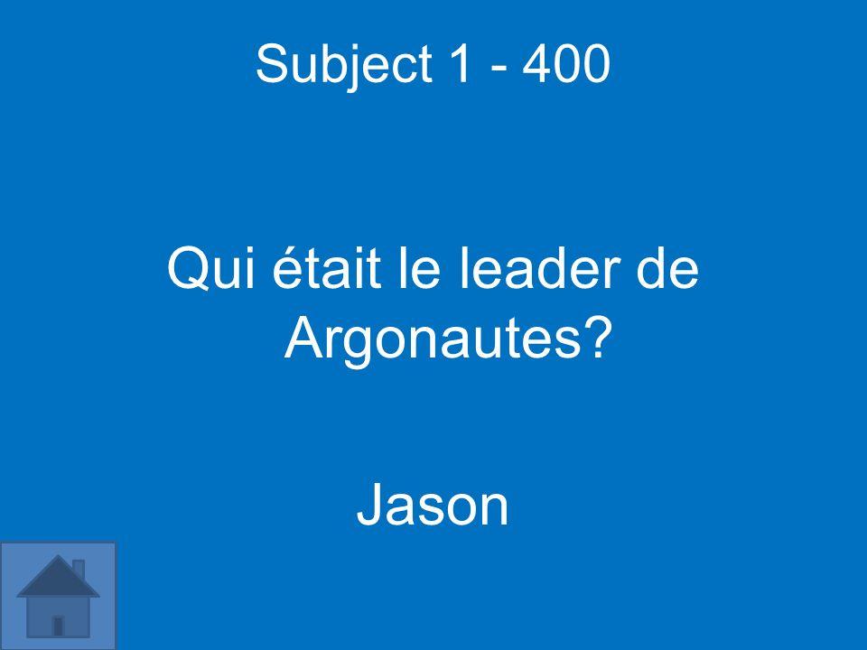 Subject 5 - 500 [insert question] [insert answer]