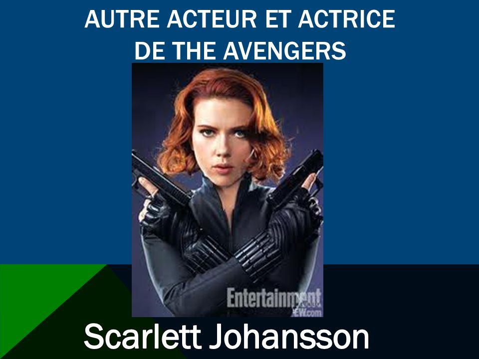 LES EFFETS SPÉCIAUX Il y a beaucoup de effets spéciaux dans The Avengers.