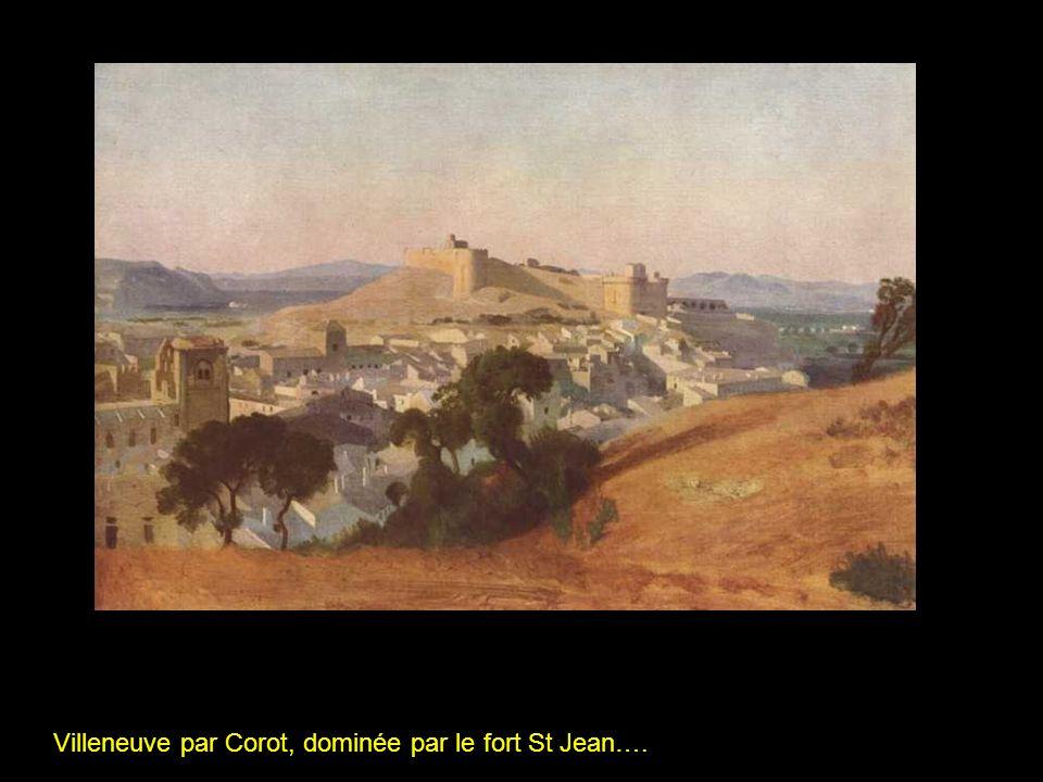 De lautre côté, insolente, Avignon semble ignorer ses dépendances
