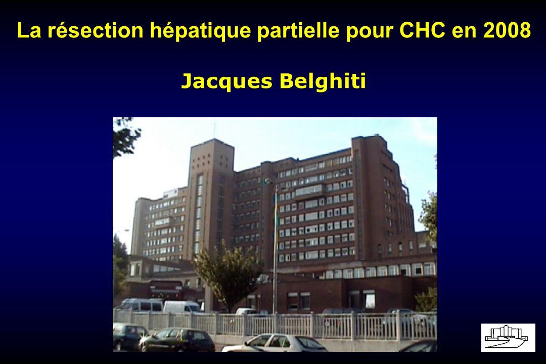 Transplantation Hépatique pour CHC Tt du CHC sur Cirrhose: Rationnel Traitement de la cirrhose avec restauration des fonctions hépatiques et suppression de lHTP.