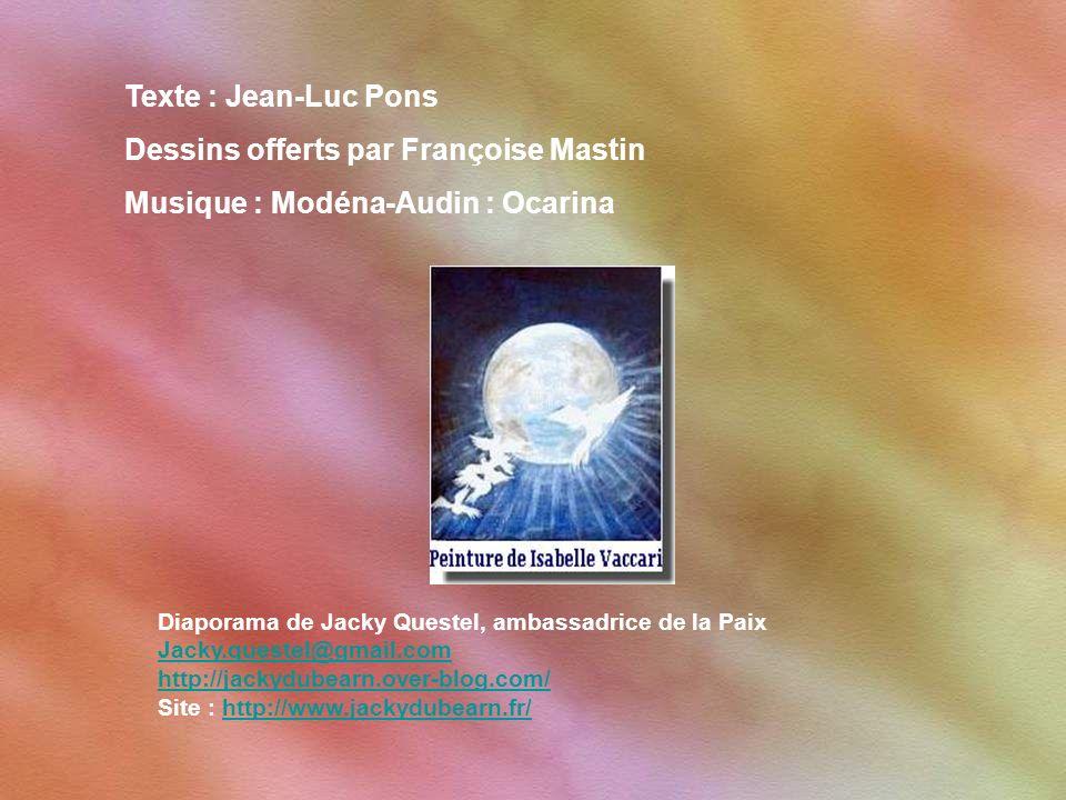 En tout cas j'ai choisi cette flamme ; Je veux danser l'année prochaine sur ces trois notes : Oser, Espoir et Optimisme. Jean-Luc Pons