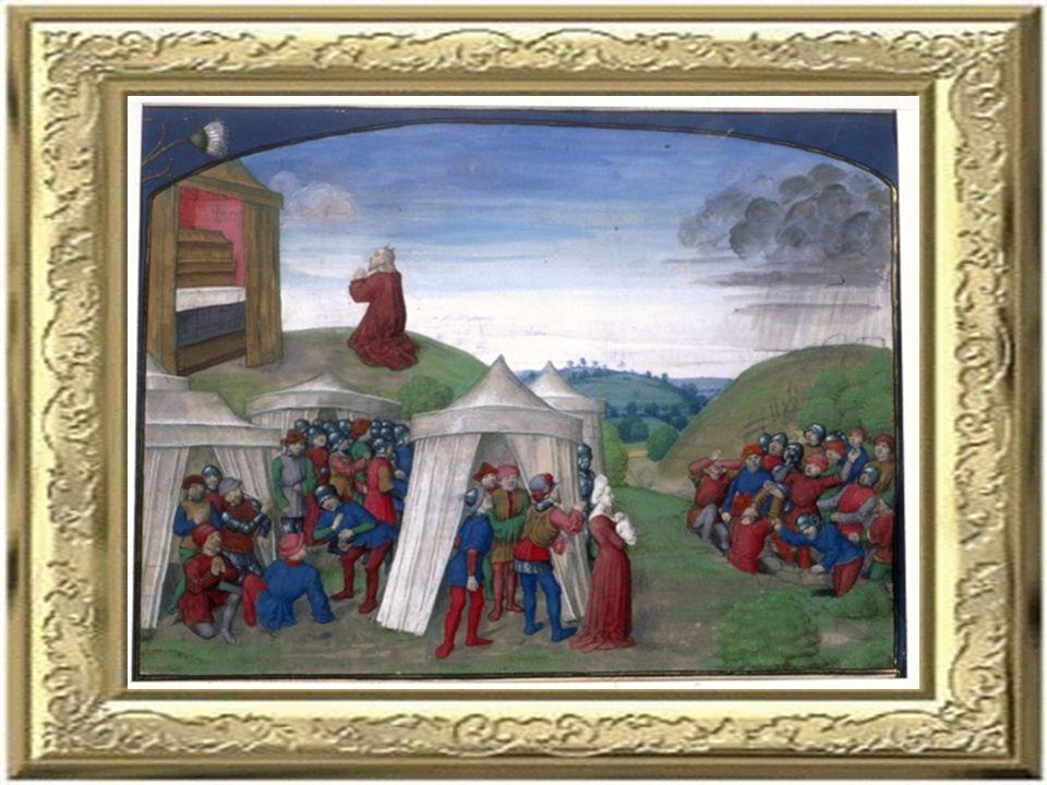 Bild 8 Bild 8 Moise et Dieu. Moise frappant le rocher.