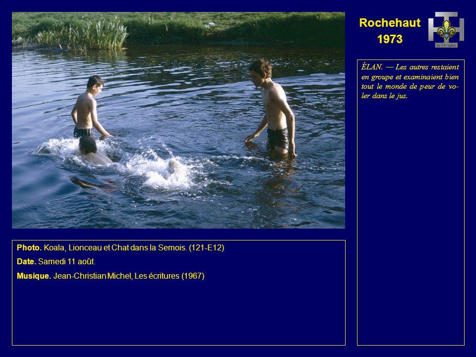 Rochehaut 1973 Photo.Cobra dans la Se- mois. (120-E11) Date.