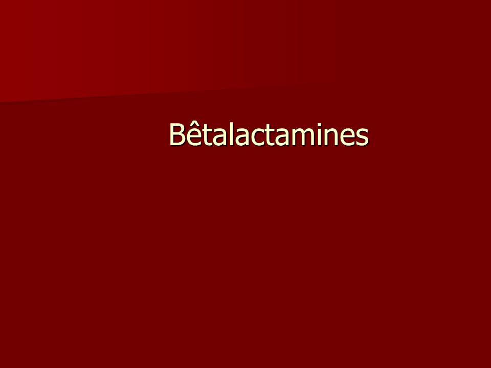 Bêtalactamines