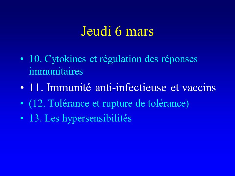 Helminthiases Infection chronique par certains helminthes (microfilaire, bilharziose à S.