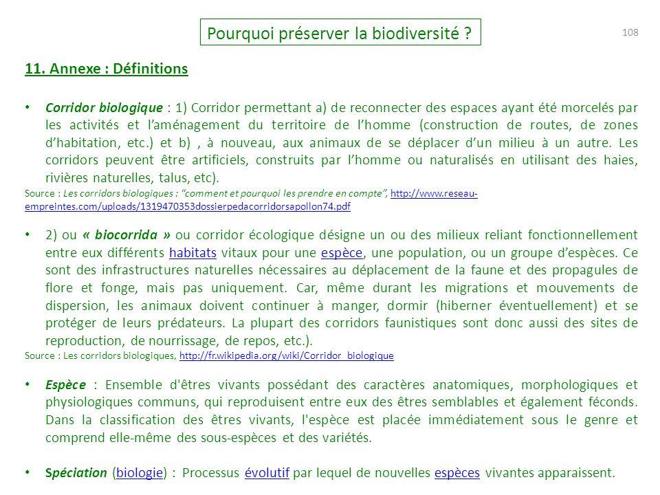 108 Pourquoi préserver la biodiversité .11.