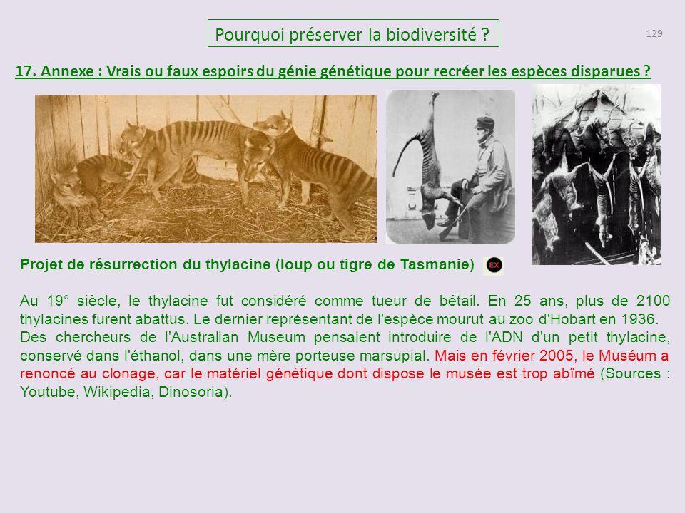 129 Pourquoi préserver la biodiversité .17.