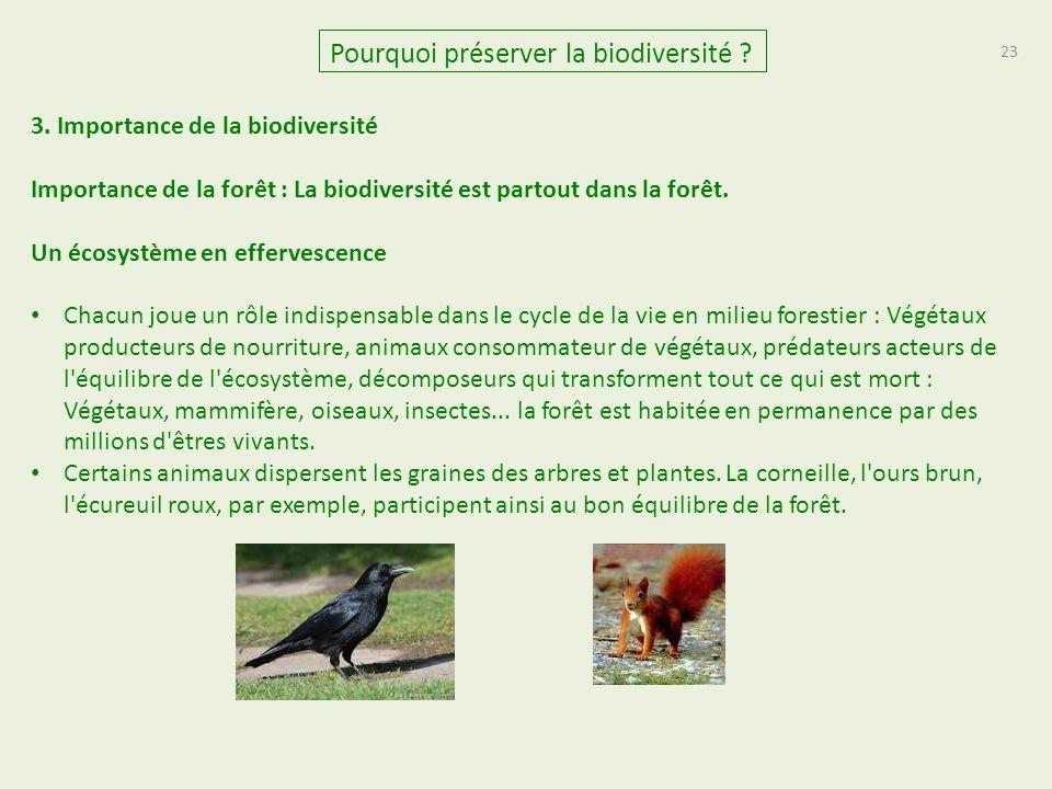 23 Pourquoi préserver la biodiversité .3.