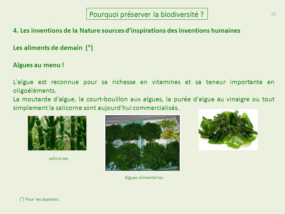 33 Pourquoi préserver la biodiversité .4.
