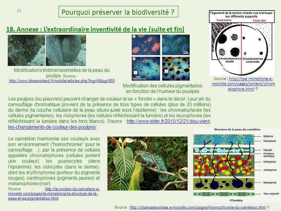 41 Pourquoi préserver la biodiversité .18.
