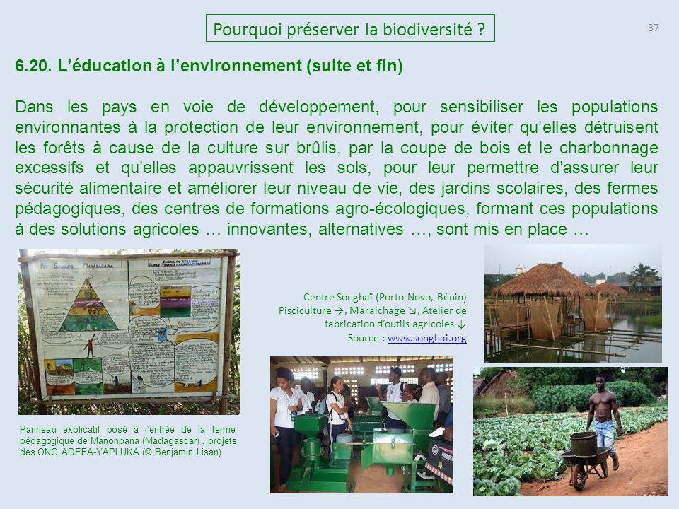 87 Pourquoi préserver la biodiversité .6.20.