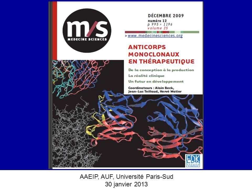 AAEIP, AUF, Université Paris-Sud 30 janvier 2013