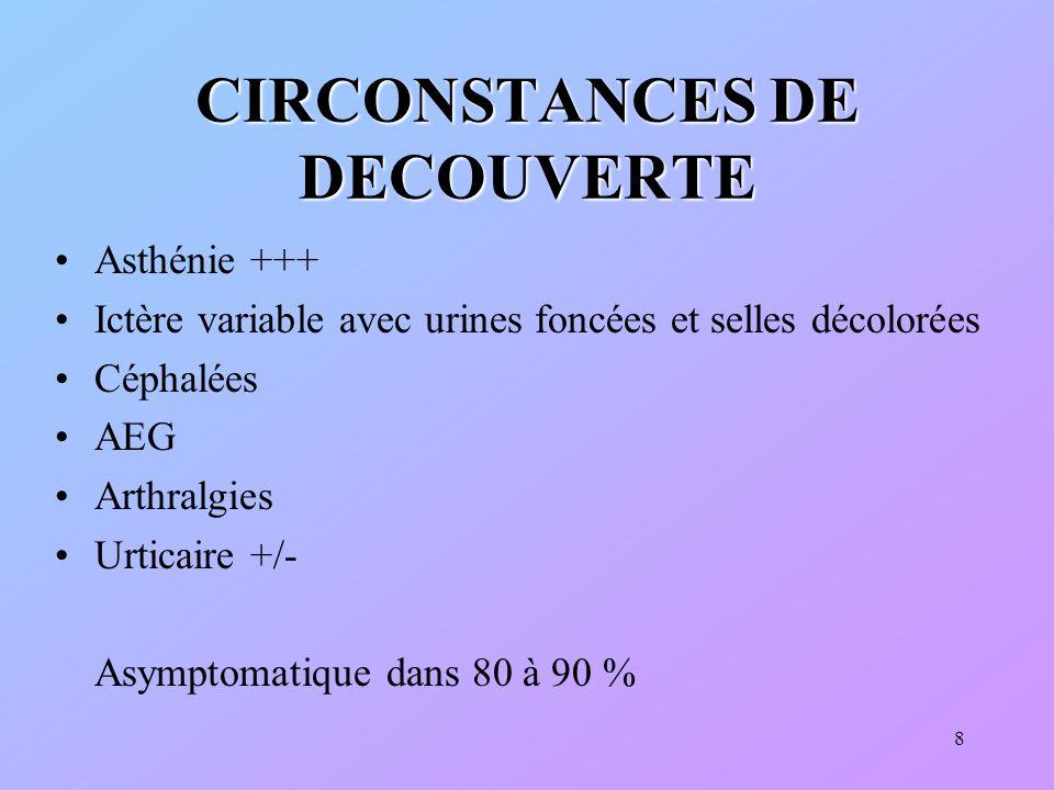 19 PENDANT LA GROSSESSE Sérologie obligatoire depuis 1992 au 6ème mois de grossesse (Décret 92-143 JO du 14 février 1992).
